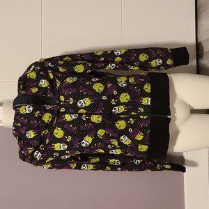 🆕Too Fast Zombie Ice Cream Zip Sweater